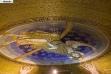Mozaik pod kupolom Hrama Svetog Save - decembar 2017.
