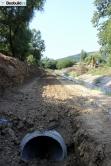 Radovi na izmeštanju Topčiderske reke (foto) - 13. avgust 2018.