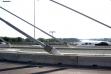 Most na Adi - radovi na tramvajskom koridoru (foto) - 13. avgust 2018.