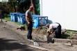 Rekonstrukcija pešačkih staza na Kalemegdanu (foto) - 1. jul 2019.