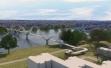 Pešačko-biciklistički most - 3D prikazi