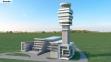 "Novi kontrolni toranj na aerodromu ""Nikola Tesla"" - 3D prikazi"