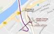 Plan postavljanja šina preko Mosta na Adi