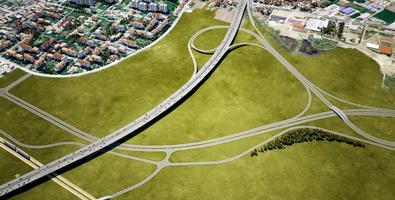 Belgrade bypass project - August 2011