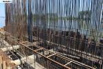 Zemun - Borča Bridge - Construction site