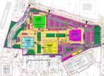 Airport City Belgrade 2000 - plan