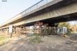 Prilazne konstrukcije Pančevačkom mostu - 8. novembar 2020.