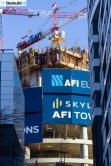 Skyline AFI Tower (foto) - 17. februar 2021.